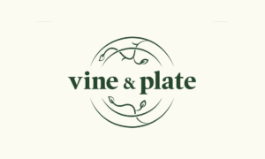 Vine and Plate logo